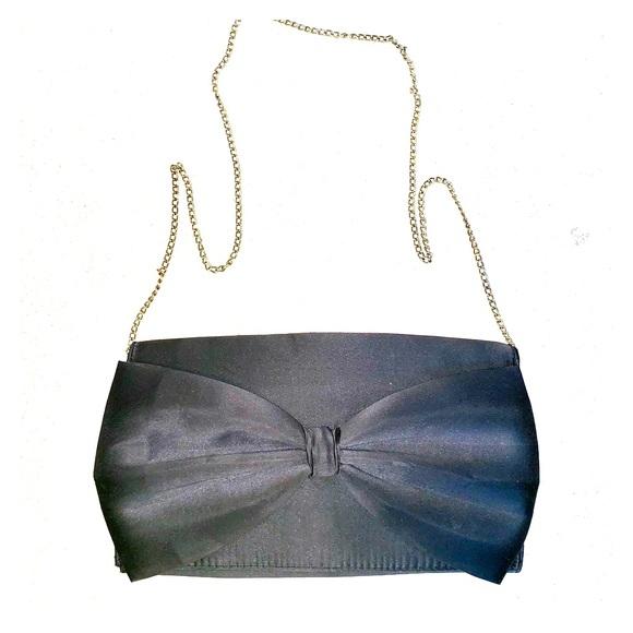 H&M Handbags - SATIN BOW EVENING CROSSBODY